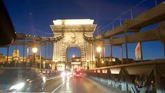 Driving on the Chain Bridge (RobW_) Tags: chain bridge budapest hungary amaviola danube 16nov2018 november 2018