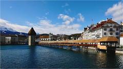 Lucerne (P i n u s) Tags: pinus switzerland lucerne sky clouds blue