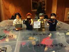 The Daily Planet (Lord Allo) Tags: lego dc superman the daily planet lois lane jimmy olsen perry white clark kent