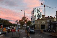 Tour-et-nuages-roses (RS...) Tags: arles luma tour frankgehry rue street clouds nuages roses pink d7200