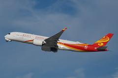 Hong Kong Airlines A350-941 (B-LGE) LAX Takeoff 2 (hsckcwong) Tags: hongkongairlines a350941 a350900 a350 airbusa350 blge lax klax