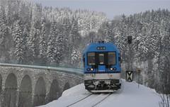 843.014 _ Smržovka (Mikes.Vojtech) Tags: zima 843 smržovka viadukt čd