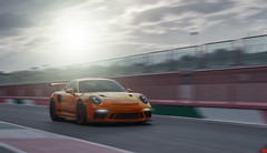 Mod-0880 (ubybeia) Tags: photoshop retouch composite composition mugello cremona circuit track pista auto 911 gt3 rs porsche trackday pitlane flare zooming adobe creativecloud car racing livery
