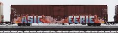 Asic/Eerie (quiet-silence) Tags: graffiti graff freight fr8 train railroad railcar art asic eerie etc boxcar miniridge mp missouripacific mp794700
