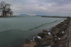 Téli Balaton II (Péter Vida) Tags: balaton ice scenery badacsony freeze port natural winter jég fagy kikötő természet balatonboglár water víz