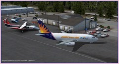 Allegiant Air Cargo at Homer, Alaska PAHO (Bill 2.5 Million views) Tags: tags airplane aircraft b737200 freighter cargo allegiant charter boxes containers homer paho rwy22 icao td ifr vfr tarmac flightsimulator fsxse orbx ftxorbx scenery addon travelisourdeal alaska iditarod sleddog