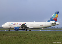 Small Planet Airlines Cambodia A320-200 OE-IIZ (birrlad) Tags: shannon snn international airport ireland aircraft aviation airplane airplanes airline airliner airlines airways storage lessor lease airbus a320 a320200 a320214 small planet cambodia oeiiz