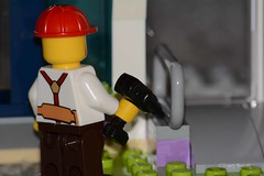 Drilling (23/365) (Tas1927) Tags: 365the2019edition 3652019 day23365 23jan19 lego minifigure minifig