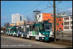 161-2016-03-14-1-Galileistraße (steffenhege) Tags: potsdam vip tramway tram strasenbahn streetcar tatra ckd kt4dc kt4dm kt4d 161
