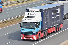 SN14 HXC (Martin's Online Photography) Tags: scania g44 truck wagon lorry vehicle freight haulage a1m fairburn nikon nikond7200