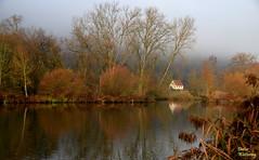 Das Haus am Fluß (diwe39) Tags: haus main karlstadt winter201819