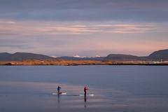 Reykjavik Bay (Ralph Rozema) Tags: reykjavik iceland bay oceaan people landscape afternoon