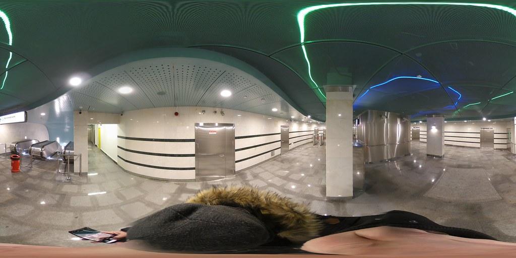 фото: Metro Belomorskaya opening day 360