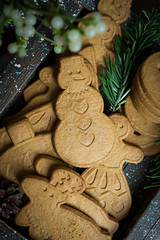 gingerbread cookie (beppelena) Tags: cookies sweetphotography sweetfood foodstyling christmas sigma sigma35mmart