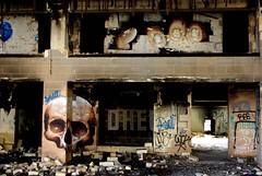 Abandoned Hotel (nothinginside) Tags: urbex 2018 decay urban hotel abandoned jerma marsaskala marsascala malta skull hall former ex graffiti murales street art pop horror gore fear dark dangerous collapse holiday complex rooms reception