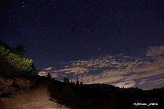 Notte in alta quota (silvano fabris) Tags: mountain montagna landscape photonature nature natura paesaggionotturno stars stelle night notte