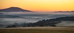 a wonderful morning (Wöwwesch) Tags: sunrise landscape golden autumn fog misty hills wonderful interesting walking