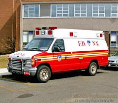 FDNY (Seth Granville) Tags: fdny ems ambulance 2002 ford econoline mccoy miller shop number fm020280