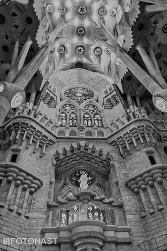 Idee van de grootte binnen in de kerk