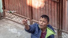 Aeroplane fun II (#Weybridge Photographer) Tags: canon 5d mk ii mkii sl dslr eos adobe lightroom nepal asia kathmandu orphanage orphan child children boy polystyrene aeroplane airplan plane toy fun