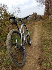 Dirt (mcfeelion) Tags: cycling bike bicycle mtb annandaleva wakefieldpark autumn