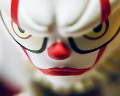 It (cokeclsc) Tags: it funko mini miniature white red clown pennywise plastic