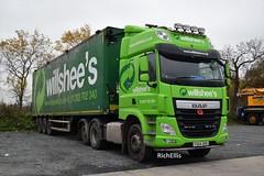 DSC_0013 (richellis1978) Tags: truck lorry cannock haulage transport logistics daf cf wilshees waste bulk fg64dhd tag axle