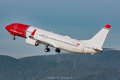 Norwegian B737-8JP LN-NHC (José M. Deza) Tags: 20181201 b7378jp bcn boeing elprat lebl lnnhc norwegain planespotting spotter aircraft