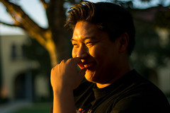 JYP-Kevin-Raquidan-2 (Kevrockydon) Tags: nikon nikonphotography nikond7200 d7200 portrait people person light lights neon color christmaslights libertystation sandiego california city sunset goldenhour