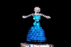 Magnetic levitation dancing LEGO Ballerina (Chairudo) Tags: lego ballerina dancing magnetic levitation maglev
