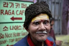 Man in Varanasi (Iam Marjon Bleeker) Tags: india varanasi benares peoplefromindia peopleinvaranasi maninvaranasi inthestreetsofvaranasi streetphotography portret portrait dag15md0c9715g