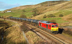 Never Say Never! (Neil Harvey 156) Tags: railway 60091 barryneedham deanfarmbridge portsmouth todmorden copypitline prestondockstanks prestontanks bitumentanks 6e32 class60 dbschenker tug