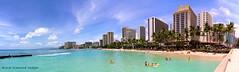 Waikiki Beach, Waikiki, Honolulu, Oahu, Hawaii, USA (Black Diamond Images) Tags: waikikibeach waikiki honolulu oahu hawaii usa beachwesternusatrip2018 2018 canond60 sigma1770 1770 panorama msice msicepanorama microsofticepanorama sky seascape landscape hawaiianbeaches beach beachlandscapes sea seascapes usabeaches