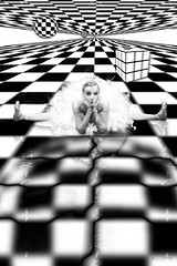 desintegracion de la realidad (Mau Silerio) Tags: model evelina godunova modelling posing ballet ballerina dancer dance dancing danza surreal surrealism famous fashion sony alpha soloist latvian latvia riga beauty beautiful