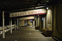 The North Pier, Blackpool, Lancashire 26/10/2018 (Gary S. Crutchley) Tags: blackpool illuminations lancashire north pier uk great britain england united kingdom nikon d800 history heritage local night shot nightshot nightphoto nightphotograph image nightimage nightscape time after dark long exposure evening travel pub inn beer ale tavern hostelry bar public house seaside seafront