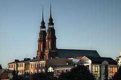 cathedral in Opole (Marek vono) Tags: opole katedra centrum miasto złotagodzina cathedral center city goldenhour sony rx100 sonydscrx100