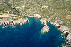 Porto Limnionas caves