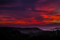Sunset mood. (skybluesky43) Tags: sunset clouds nuvens céu sky landscape cloud mountains nikon d7100 55200