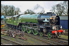 No 60163 Tornado 6th Jan 2019 Nene Valley Railway (Ian Sharman 1963) Tags: no 60163 tornado 6th jan 2019 nene valley railway class a1 462 station steam engine rail railways train trains loco locomotive passenger pepper corn wansford peterborough nvr heritage line