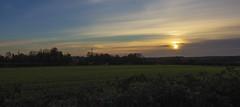 Sunset Markfield (sdmvqedd30) Tags: sunset clouds sky fields grass hedgerow evening november canon