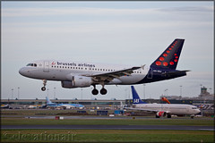 OO-SSJ Airbus A319-111 Brussels Airlines (elevationair ✈) Tags: dublin airport dublinairport dub eidw airliners airlines avgeek aviation airplane plane arrival departure jet winter ireland swis brusselsairlines airbus a319 airbusa319111 oossj