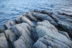Runde klippe -|- Cliff at Runde (erlingsi) Tags: erlingsi iphone erlingsivertsen no rundeisland cliffs klipper blue sea