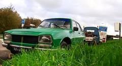 Peugeot 504 2.1D (Skylark92) Tags: nederland netherlands holland noordholland northholland amsterdam schellingwoude peugeot 504 21d a20 berline diesel ah6599 1972