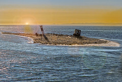 The sinking Island (LOURENḉO Photography) Tags: island minor smith pacific ocean juan de fuca juandefuca washington state art color historic beautiful sunrise pnw minorisland sink sinking photography photo boat weather station trip islands seattle fun lighthouse