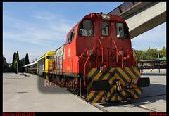Tren Azul (renfealvia) Tags: renfe mercancías mercancias train tren trains trenes teco tracción 310045 310 045 269 604 269604 la gata aafm azaft azul postal madrid españa expreso europa empresa empresas