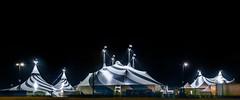 volta mission rock (pbo31) Tags: sanfrancisco california nikon d810 color night dark black city urban november 2018 boury pbo31 missionbay cirquedusoleil volta tent circus show panoramic large stitched panorama