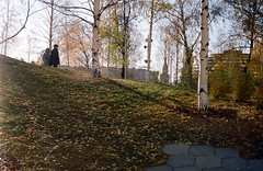 autumn park (narrator of the tales) Tags: moscow portra kodak 35mm autumn park