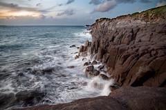 Capo Altano (fiore_lla4ever) Tags: scogliera capo altano portoscuso sardegna endless island long exposition landscape seascape lightroom canon eos 6d flower