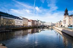 Reflection (Maria Eklind) Tags: autumn gothenburg göteborg reflection spegling sweden höst gustavadolfstorg city västragötalandslän sverige se