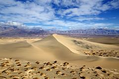 Mesquite Flat Sand Dunes (Explore, 1/20/19) (BDFri2012) Tags: mesquiteflatsanddunes sanddunes sanddune sand deathvalleynationalpark deathvalley desert desertsouthwest desertview vista view nationalpark mountains clouds california ca americansouthwest landscape
